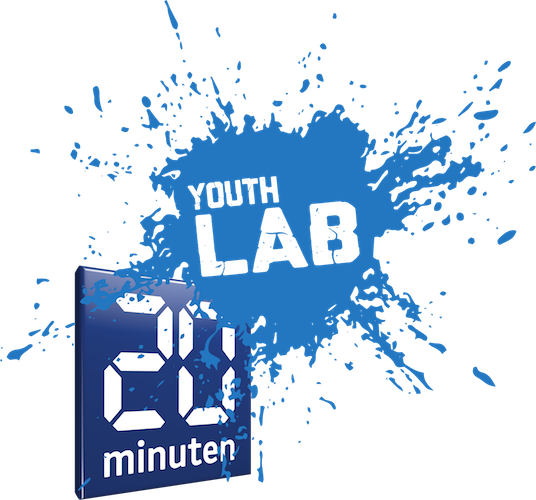 20 Minuten Youth LAB Logo